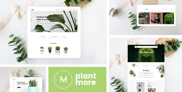 Download Free PlantMore WordPress Theme