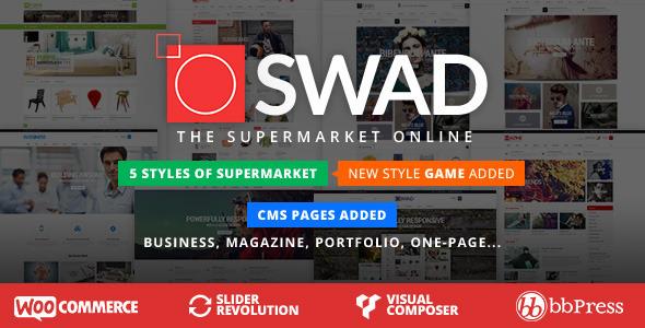 Oswad SuperMarket Wordpress Theme