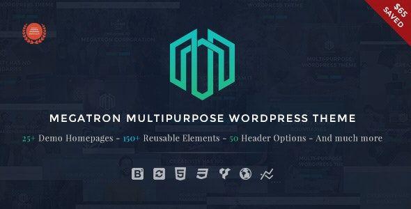 megatron wordpress theme