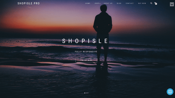 Shop Isle Pro WordPress Theme