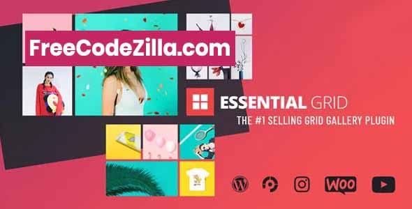 Essential Grid WordPress Plugin v3.0.12 Free Download