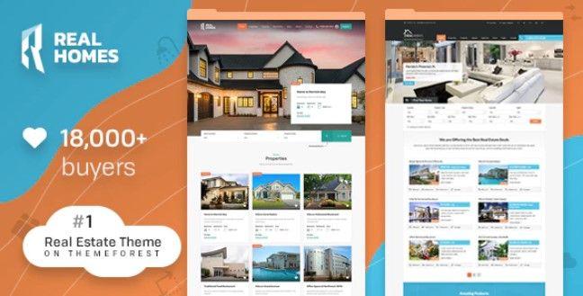 Real Homes WordPress Theme Free Download