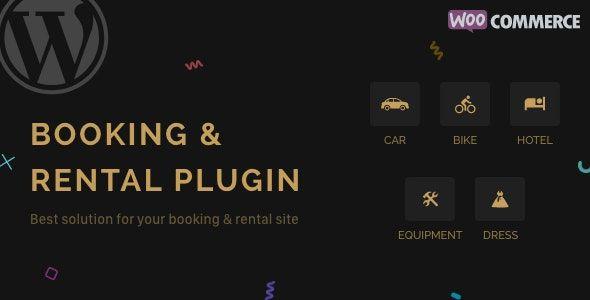 RnB v9.0.9 - WooCommerce Booking & Rental Plugin