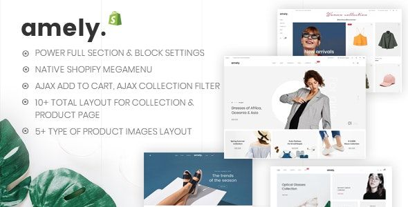 Amely v2.6.5 Nulled - Fashion Shop WordPress Theme for WooCommerce