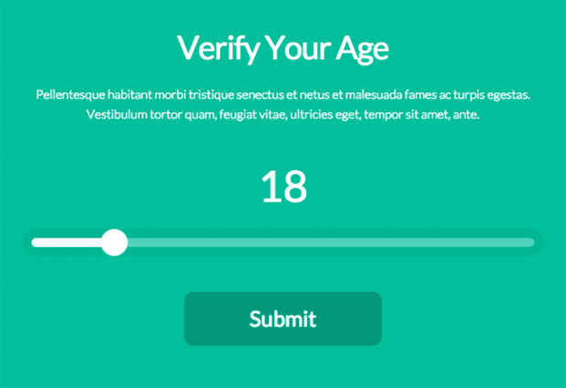 Age Verification WordPress Plugin