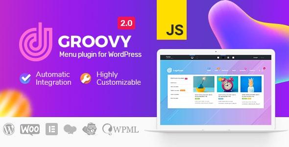 Groovy Mega Menu Nulled - Responsive Mega Menu Plugin for WordPress