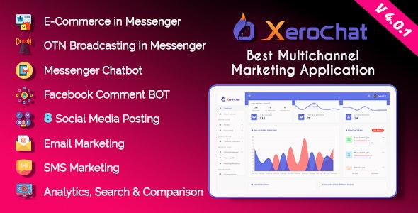 XeroChat v4.2 Nulled – Best Multichannel Marketing Application