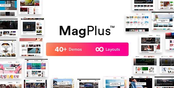 MagPlus Nulled – Blog & Magazine WordPress Theme