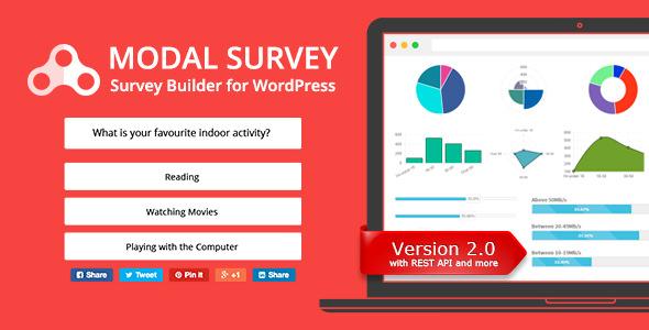 Modal Survey WordPress Plugin free download