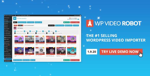 WordPress Video Robot Plugin free download