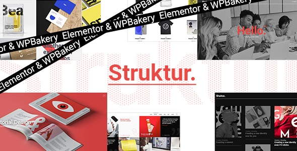 Struktur WordPress Theme Nulled free download
