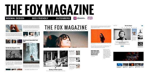 TheFox WordPress Theme free download