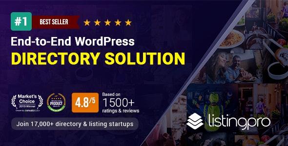 ListingPro WordPress Theme Free Download