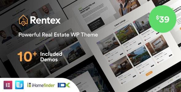 Rentex WordPress Theme Free Download
