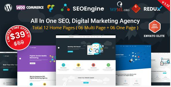 SEO Engine WordPress Theme free download