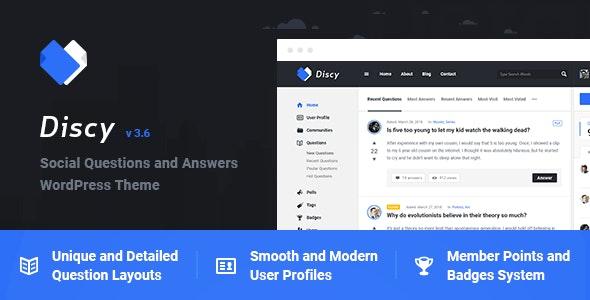 Discy WordPress Theme free download