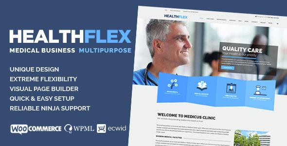 Healthflex WordPress Theme free download