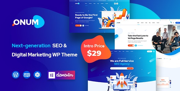 Onum WordPress Theme Free download
