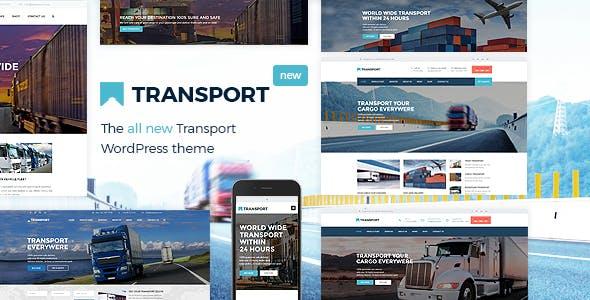 Transport - WP Transportation & Logistic Theme Free Download