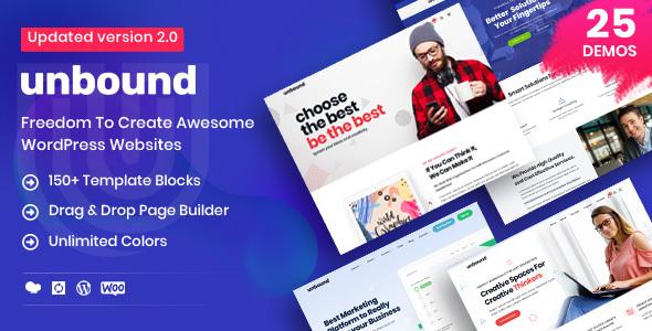 Unbound WordPress Theme Free Download