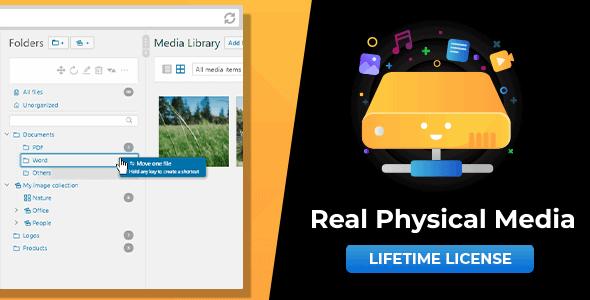 WordPress Real Physical Media Plugin Free Download