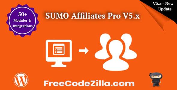 SUMO Affiliates Pro – WordPress Affiliate Plugin Free Download