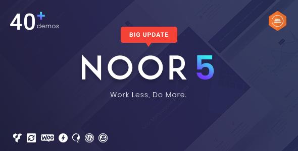 Noor WordPress Theme Free Download