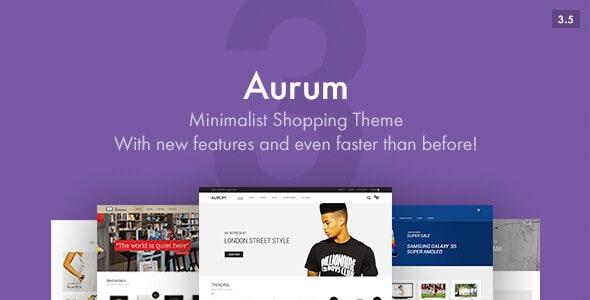 Aurum WordPress Theme Free Download
