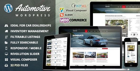 AutomotiveWordPress Theme Free Download