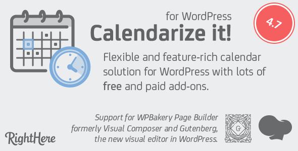 calendarize it for wordpress free download