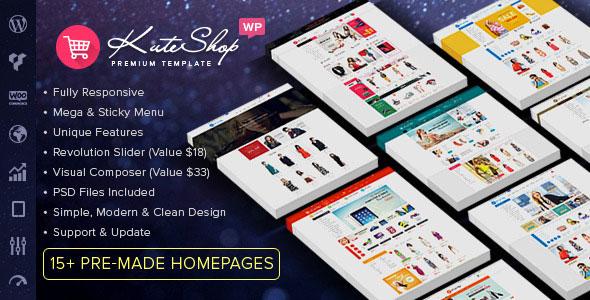 kuteshop wordpress theme free download