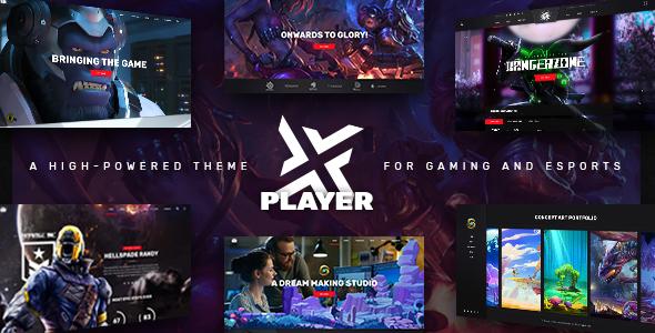 PlayerX WordPress Theme Free Download