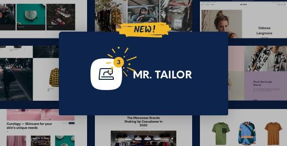 Mr. Tailor WordPress Theme Free Download