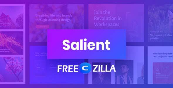 Salient NULLED - Responsive Multi-Purpose WordPress Theme