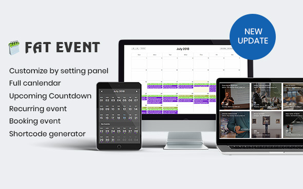 FAT Event WordPress Plugin Free Download
