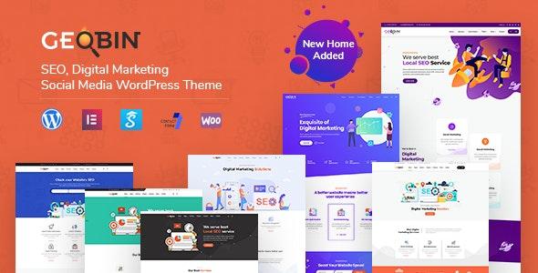 GeoBin WordPress Theme Free Download