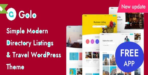 Golo WordPress Theme Free Download