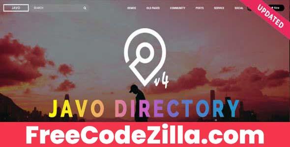 Javo Directory WordPress Theme Free Download