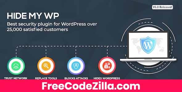 Hide My WP Nulled - WordPress Security Plugin Free Download