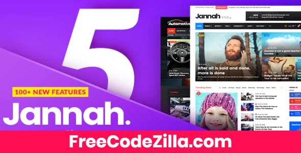 Jannah - Newspaper, Magazine News, BuddyPress & AMP Theme Free Download