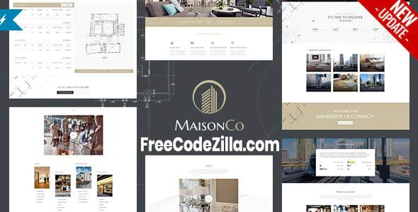 maisonco - single property wordpress theme nulled