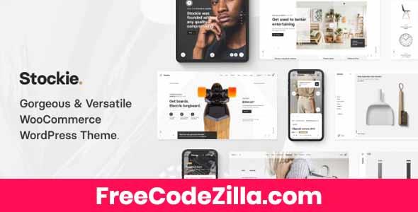 Stockie – Multi-purpose Creative WooCommerce Theme Free Download