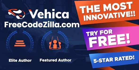 Vehica - Car Dealer & Listing WordPress Theme Free Download