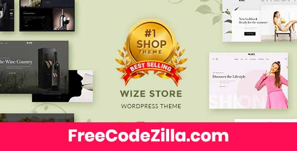 WizeStore – WooCommerce Multipurpose Responsive Theme Free Download
