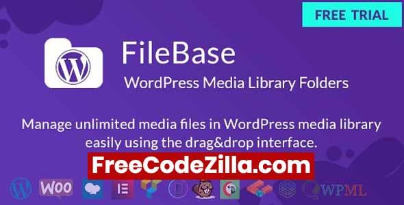 FileBase - WordPress Media Library Folders Free Download