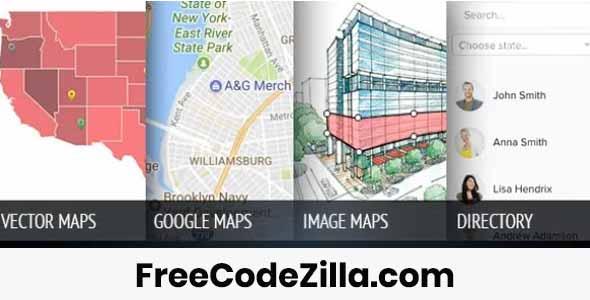 MapSVG - Best WordPress Map Plugin Free Download