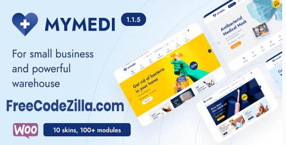 MyMedi – Responsive WooCommerce WordPress Theme Free Download
