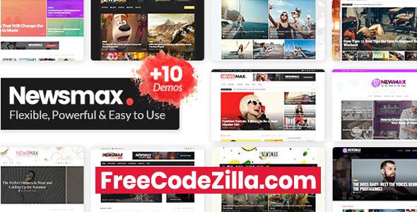 Newsmax - Multi-Purpose News & Magazine Theme Free Download