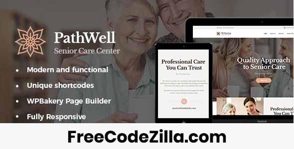 PathWell - A Senior Care Hospital WordPress Theme Free Download