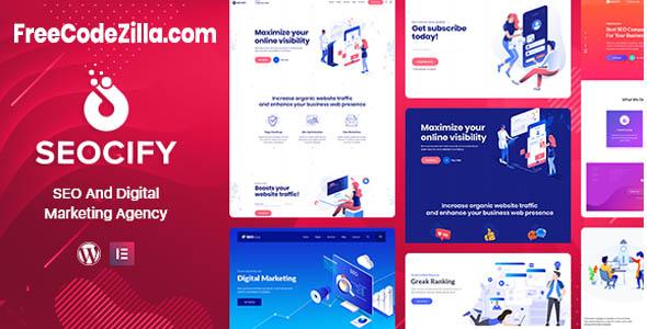 Seocify WordPress Theme Free Download